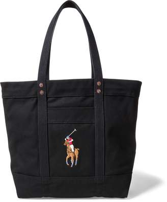 Ralph Lauren Canvas Big Pony Tote