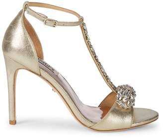 Badgley Mischka Pascale II Embellished Sandals