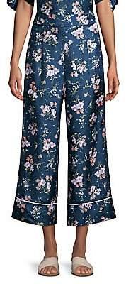 Rebecca Taylor Women's Emilia Wide-Leg Silk Pants
