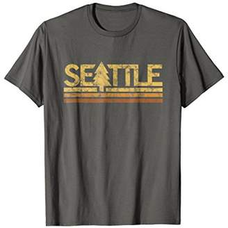 Retro Vintage Seattle Washington T-Shirt