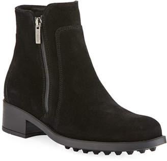La Canadienne Sydney Suede Zip Boots