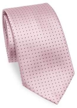 Emporio Armani Square Silk Tie
