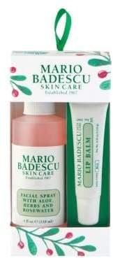 Mario Badescu Two-Piece Facial Spray& Lip Balm Ornament