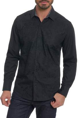 Robert Graham Onyx Long Sleeve Classic Fit Shirt
