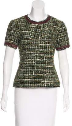 Marissa Webb Virgin Wool-Blend Top