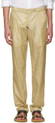 Fendi Khaki Ripstop Trousers