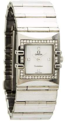 Omega Diamond Constellation Quadra Watch