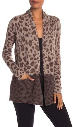 Magaschoni M BY Animal Patterned Cashmere Cardigan