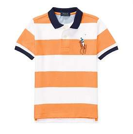 Polo Ralph Lauren Striped Cotton Mesh Polo Shirt(2-7 Years )