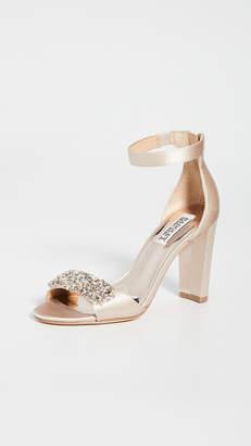 Badgley Mischka Edaline Block Heel Sandals