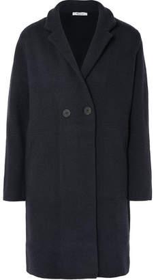 Madewell Bellflower Double-breasted Wool-blend Coat - Black