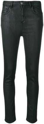 Twin-Set coated skinny jeans