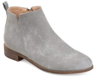 Brinley Co. Comfort by Womens Almond Toe Bootie