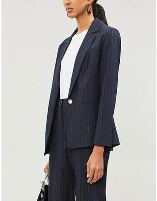 Ted Baker Metallic-striped woven blazer