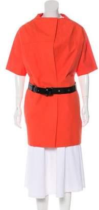 Marni Short Sleeve Knee-Length Coat