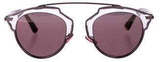 Christian Dior So Real 1 Reflective Sunglasses