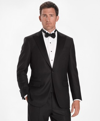 Brooks Brothers Madison Fit Golden Fleece One-Button Peak Tuxedo