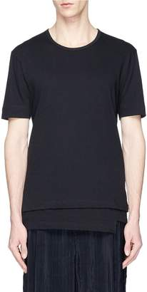 The Viridi-anne Layered hem T-shirt