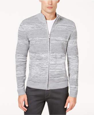 Alfani Men Textured Full-Zip Cardigan