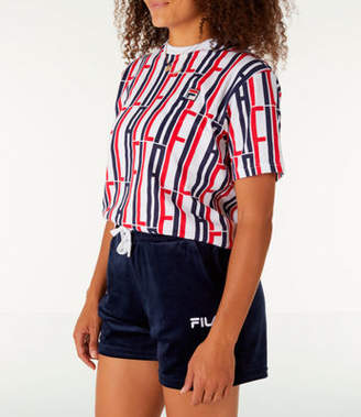 Fila Women's Lia Allover Print T-Shirt