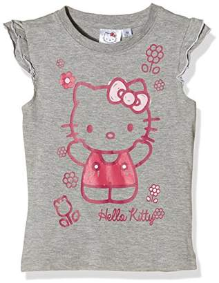 Hello Kitty Girl's Hugs T-Shirt,(Manufacturer Size:X-Large)