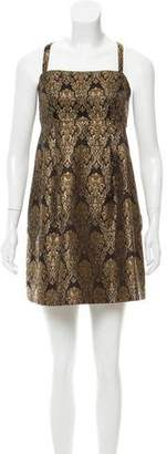 MICHAEL Michael Kors Brocade Mini Dress