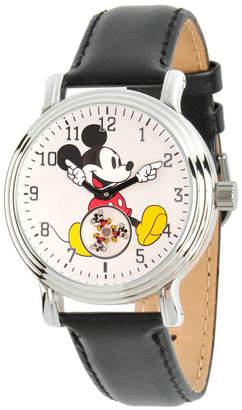 EWatchFactory Disney Mickey Mouse Women Silver Vintage Alloy Watch