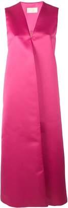Sara Battaglia long straight fit dress