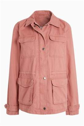 Next Womens Khaki Utility Jacket
