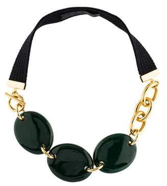 Marni Horn & Resin Necklace
