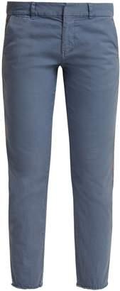 Nili Lotan East Hampton low-rise stretch-cotton trousers