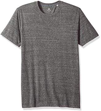 AG Adriano Goldschmied Men's Bryce Short Sleeve Heathered Crew Neck Tee