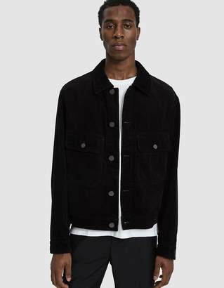 Lemaire Corduroy Jacket in Black