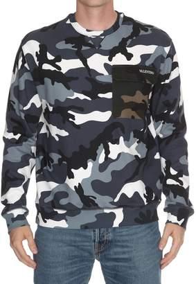 Valentino Camouflage Sweatshirt