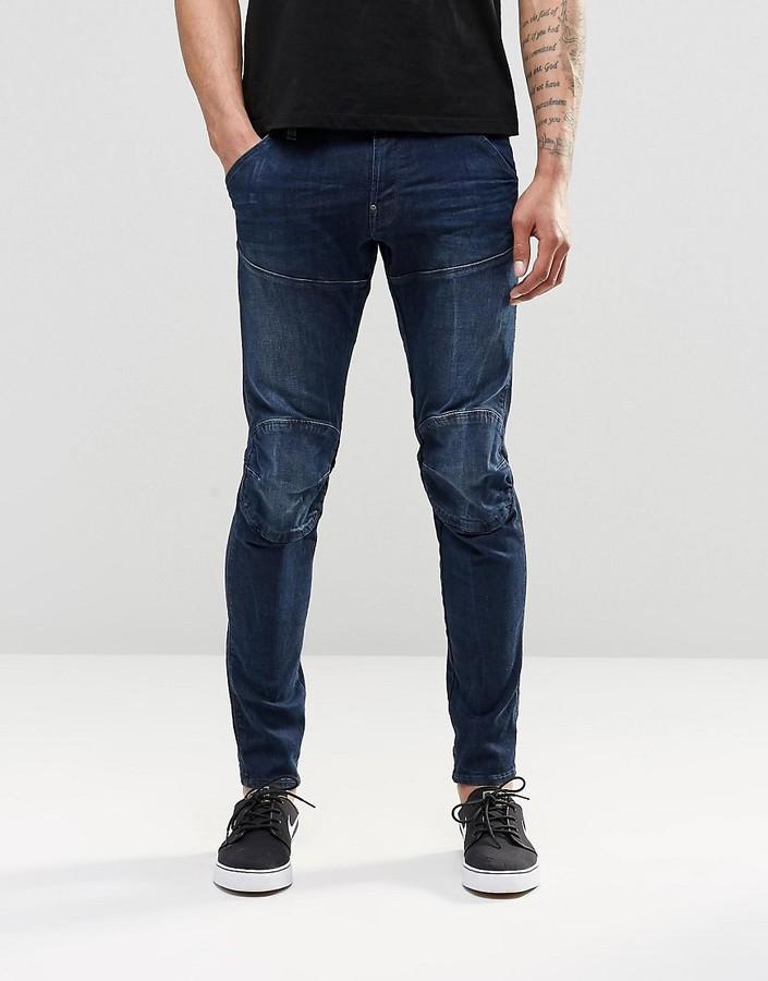 G StarG-Star G Star Jeans 5620 3D Super Slim Dark Aged