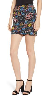 Rebecca Minkoff Adalynn Floral Miniskirt