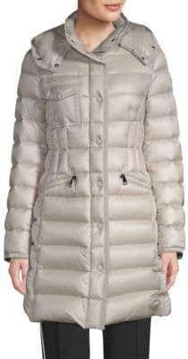Moncler Hermine Leger Coat