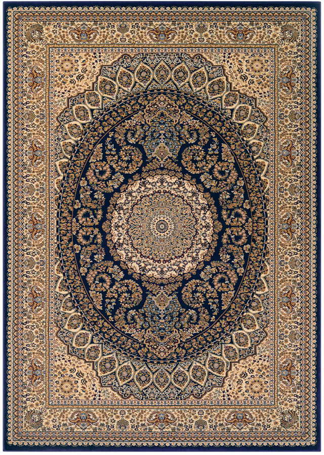 "Couristan Couristan Margate Court Navy 2' x 3'11"" Area Rug"