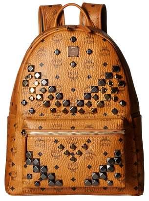 MCM Stark M Stud Medium Backpack Backpack Bags