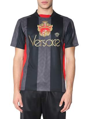 Versace T-shirt With Vintage Logo