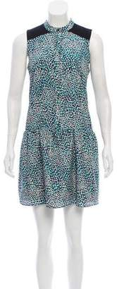 Cynthia Steffe Printed Sleeveless Dress