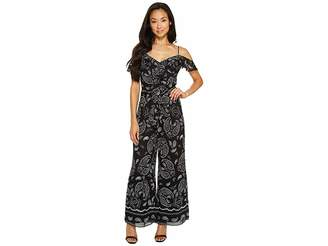 Tahari ASL Petite Paisley Jumpsuit Women's Jumpsuit & Rompers One Piece
