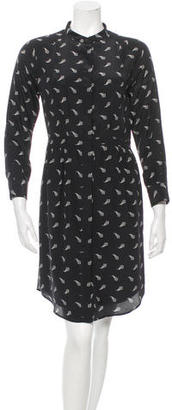 Boy. by Band of Outsiders Printed Silk Dress $75 thestylecure.com