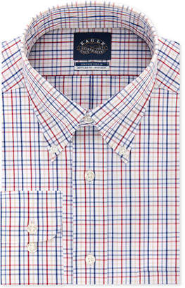 Eagle Men Classic/Regular Fit Non-Iron Flex Collar Dress Shirt
