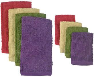 Asstd National Brand Urban Bar Mop 8-pc. Dish Towel and Dishcloth Set