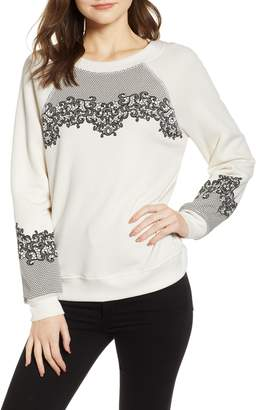 Wildfox Couture Chantilly Lace Sommers Sweatshirt