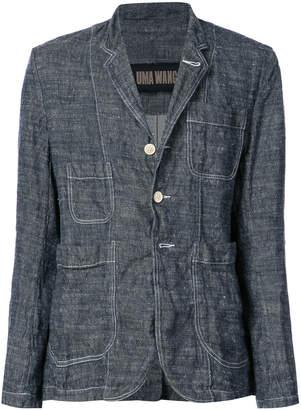 Uma Wang woven button up jacket