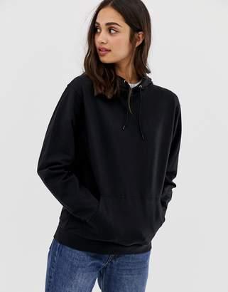 Asos DESIGN ultimate hoodie in black