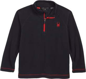 Spyder Mini Speed Fleece Pullover Top