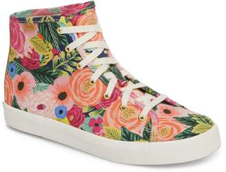 Keds R) x Rifle Paper Co. Kickstart Julie High Top Sneaker